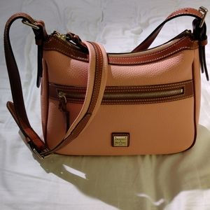 Dooney & Bourke Piper Crossbody Pale Pink NWOT